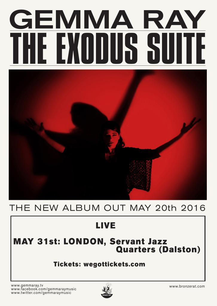 Exodus Suite LIve poster