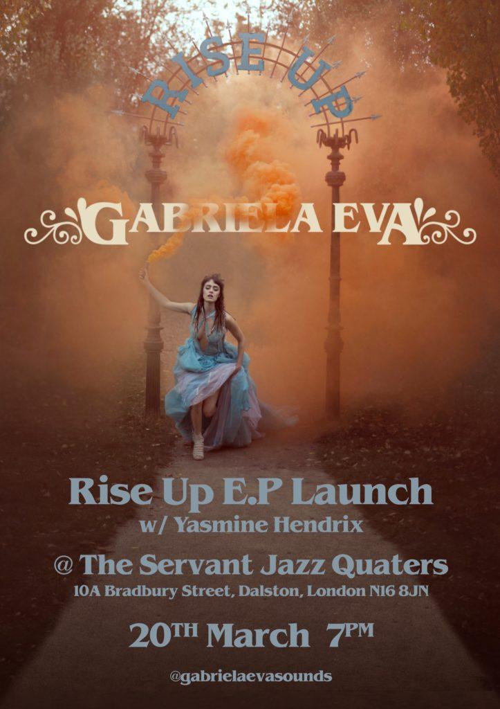Gabriela Eva Ep Launch Servant Jazz Quarters